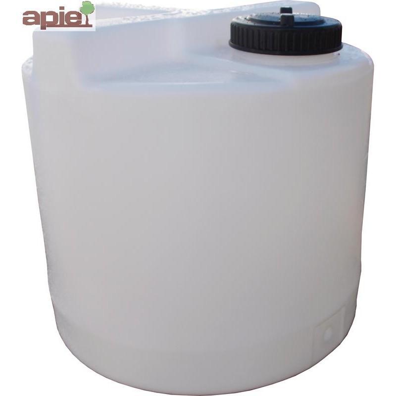 Cuve de dosage cylindrique 60 L, couvercle à visser - Référence : CUVE/DOSAGE/DV0060CV