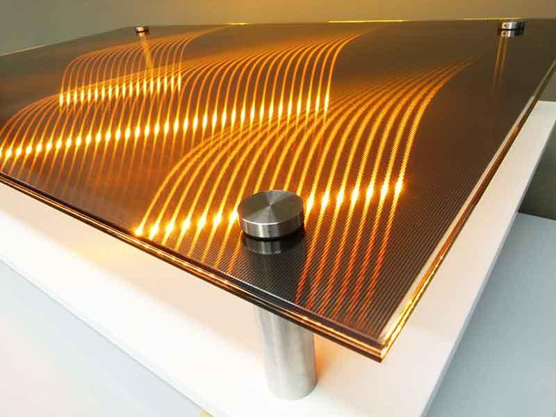 Inova 3D Design - La rencontre entre le monde du Verre et la technologie LEDs.