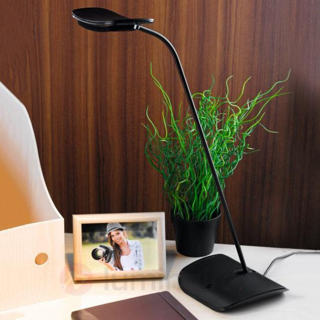 Lampe de bureau LED Folia au design intemporel - Lampes de bureau LED
