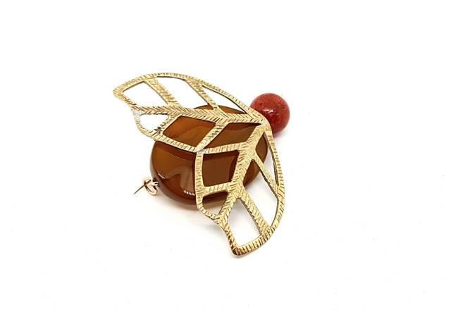 coccinella spilla - spilla o ciondolo