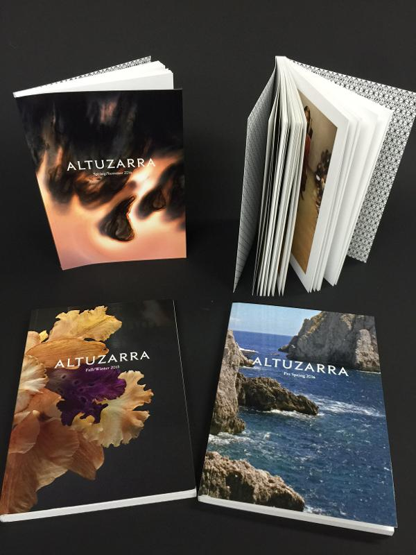 Brochures / Catalogues , Dos carré collé - Réalisation du Portfolio