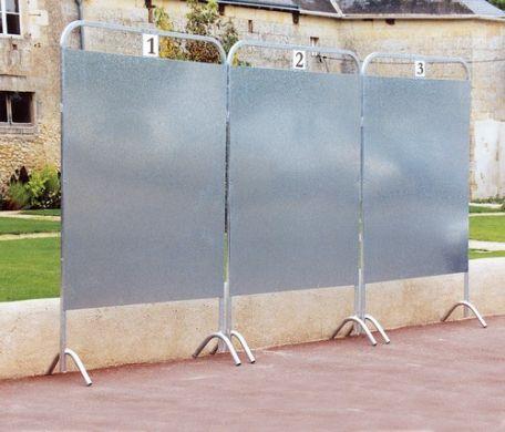 Panneau électoral tube carré - Affichage - Exposition