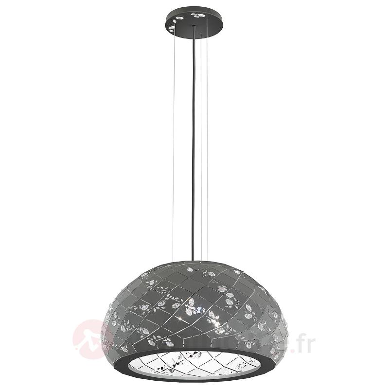 Apta - suspension avec cristaux 53 cm, gris - Suspensions design