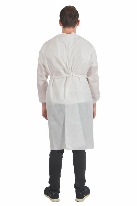 White Gown - MEDICAL TEXTILE
