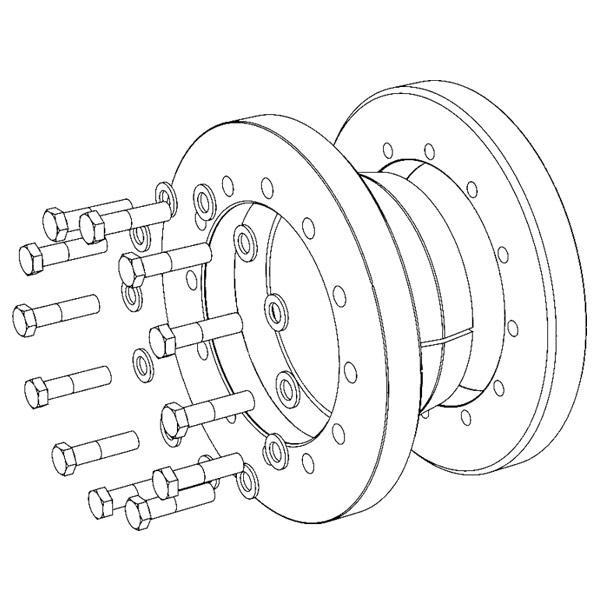 Type 52 - Shrink Discs 3-part