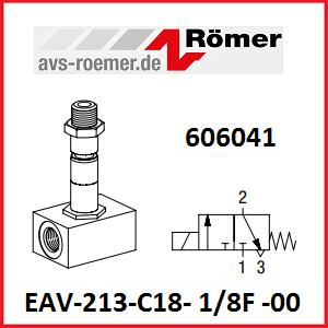 EAV-213-C18- 1/8F -00 - 3/2-Way Solenoid Valve