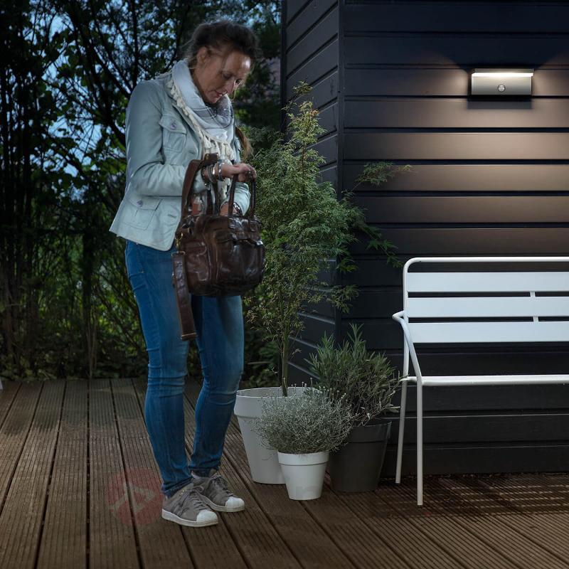Applique d'extérieur LED Bustan IR avec capteur - Appliques d'extérieur avec détecteur