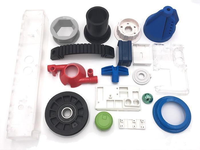 Piezas moldeadas de plástico - Moldeo por inyección de piezas de plástico de calidad de China