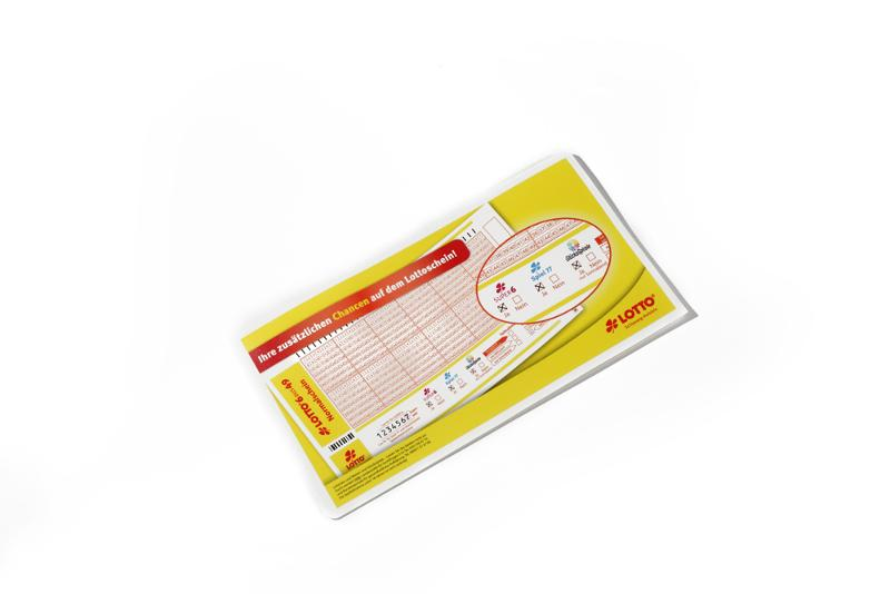 Lottoscheinhüllen - null