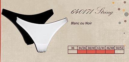 String - Lingerie pour Femmes