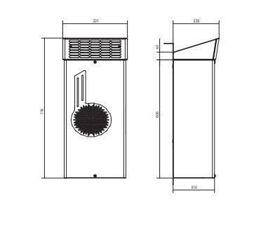Emo06 Condizionatori Da Parete Per Applicazioni Outdoor - LINEA CLIMATIZZAZIONE