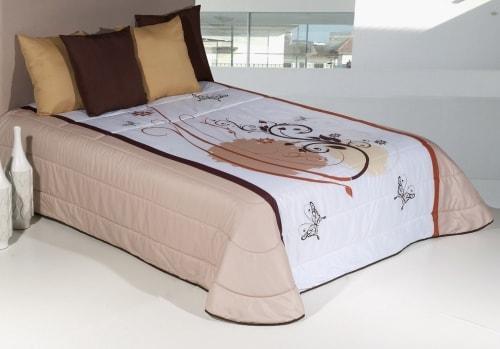 Printed bedspread - LENA