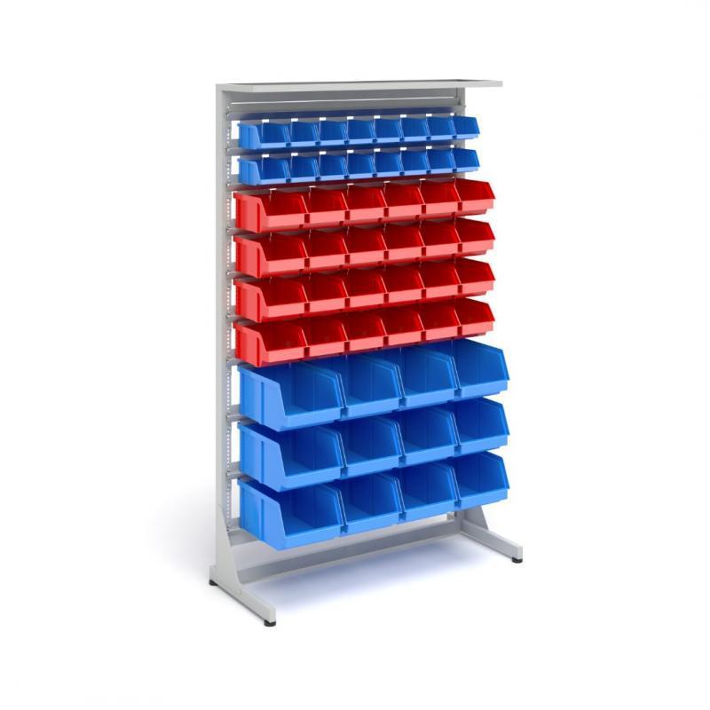 Workshop container racks -