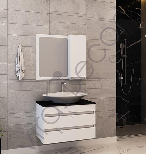 Hira 80cm - wooden bathroom furniture