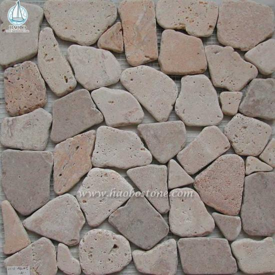 Natural Stone Mosaic Panels For Interior Wall - Construction Stone