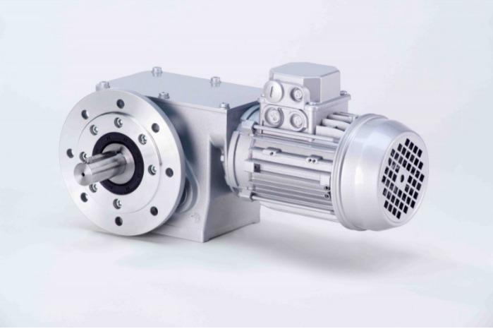 SN19F - Zweistufiger Getriebemotor mit Ausgangswelle