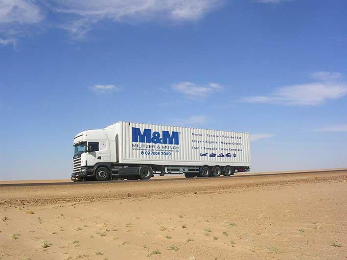 Transport routier de marchandises / fret route -