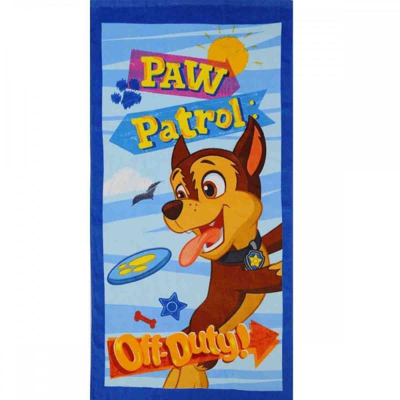 6x Serviettes de plage Paw Patrol 70x140 - Serviette