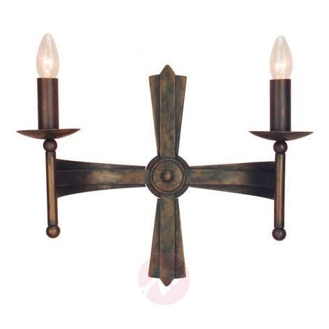 Cromwell Chandelier Medieval Six Bulbs - design-hotel-lighting