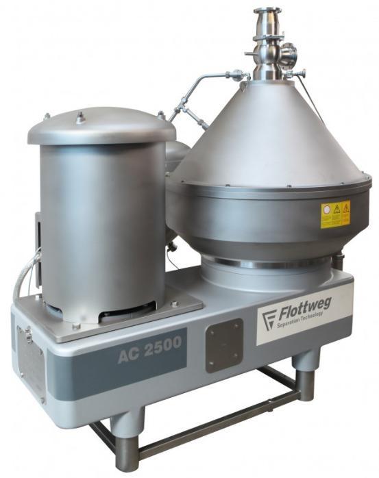 Separator - Flottweg produces disc stack separators  for separation and clarification.