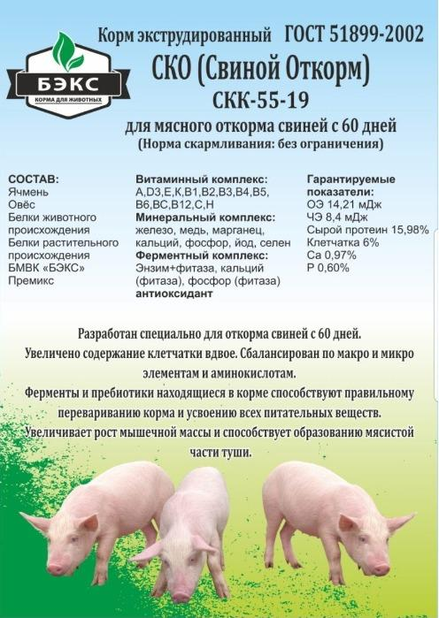 FEEDS FOR PIGS -