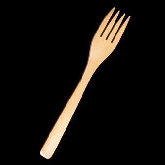 B56 Bamboo fork 12pcs/set - null