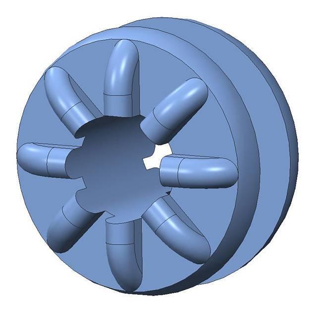 SCREW GROMMET THRMPL BLUE - Aearo Technologies, LLC G-402-1