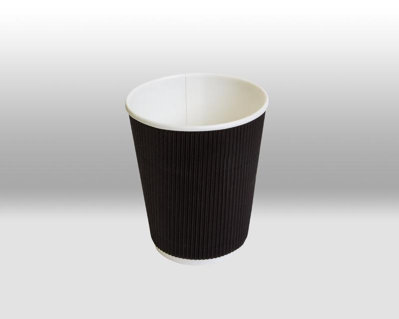 """BLACK RIPPLE PAPER CUPS """"TWISTCUP"""" - TWISTCUP"""
