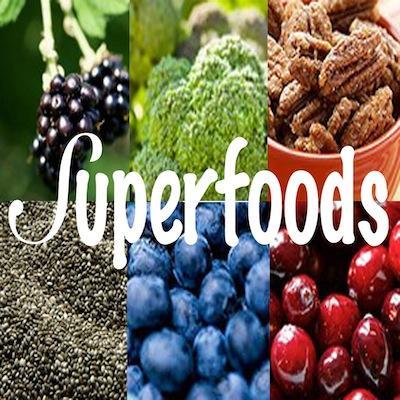 Superalimentos e Suplementos Alimentares - Sementes e bagas