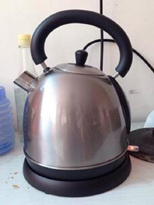 Титановый чайник - Чистый титановый чайник, полировальный струйный чайник, power1850-2200W, Capcity