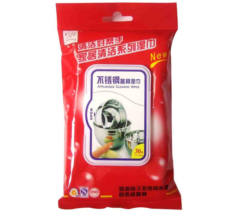 Stainless Steel Appliances Cleaning Wipes 30S - null