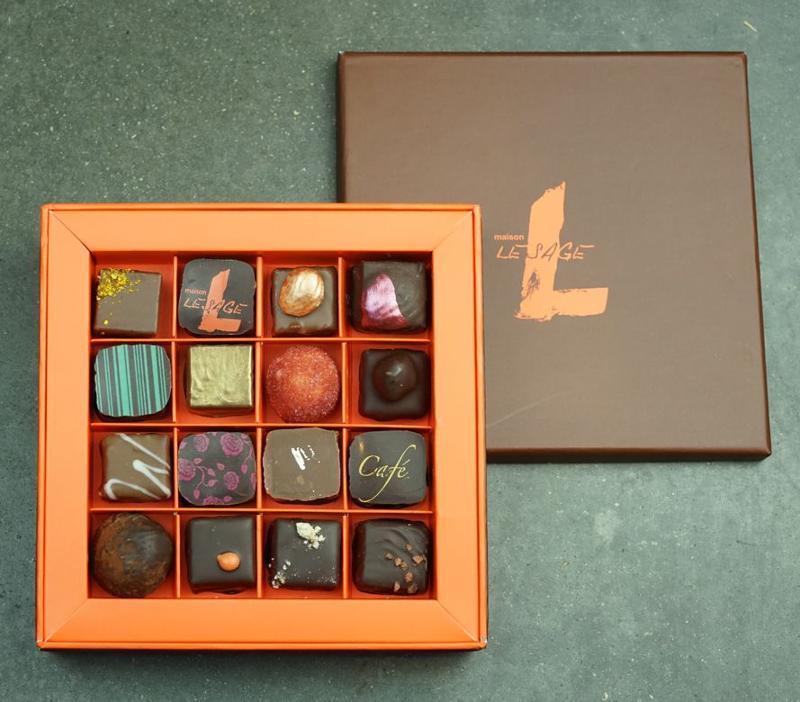 Coffrets Chocolats - Coffret Bonbons Chocolat - 16 pièces (env. 210 g)