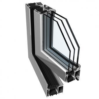 Ponzio PE 78N Fenster - Aluminiumfenster