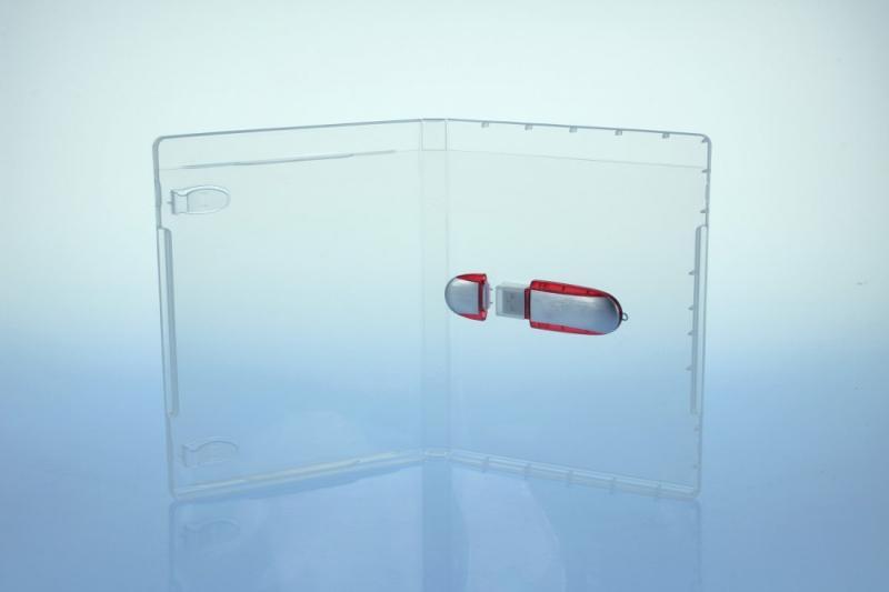 BluRay Box - für USB-Stick - transparent - USB-Stick