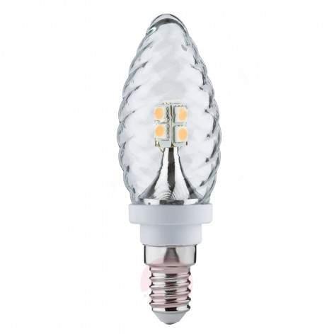 E27 2.5W 827 LED globe lamp 60 clear - light-bulbs