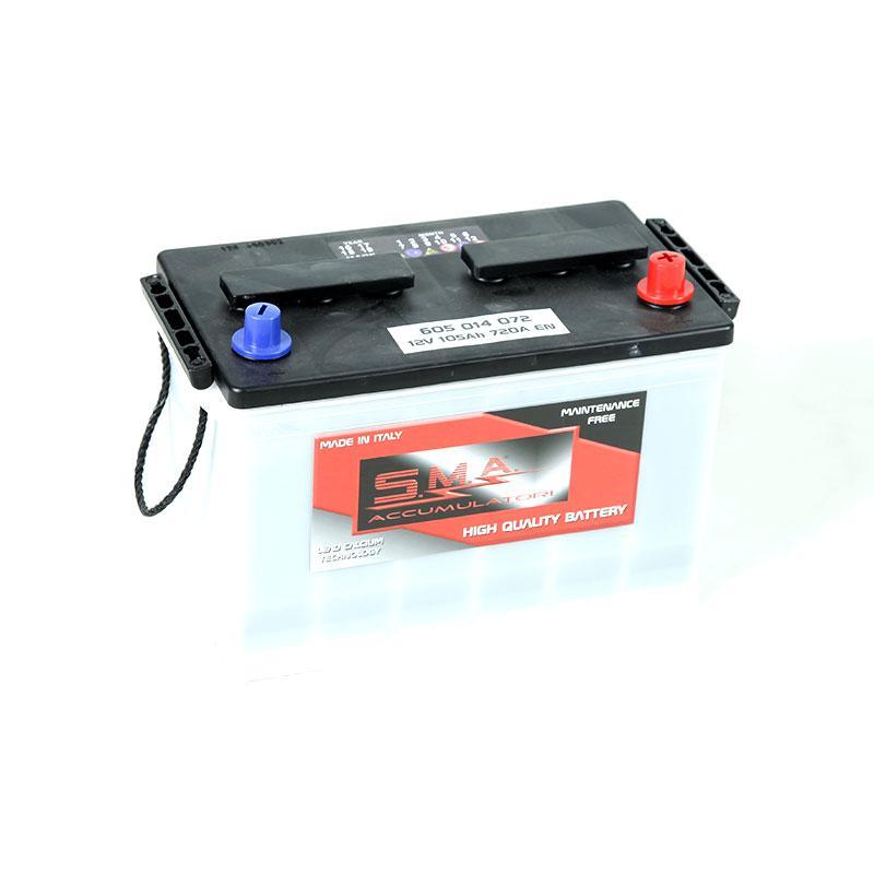 Batteria GR28 105AH destra - Batterie Trazione Leggera - Piastra Piana
