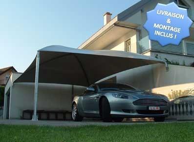 Toiles france entreprises - Abri voiture en toile ...