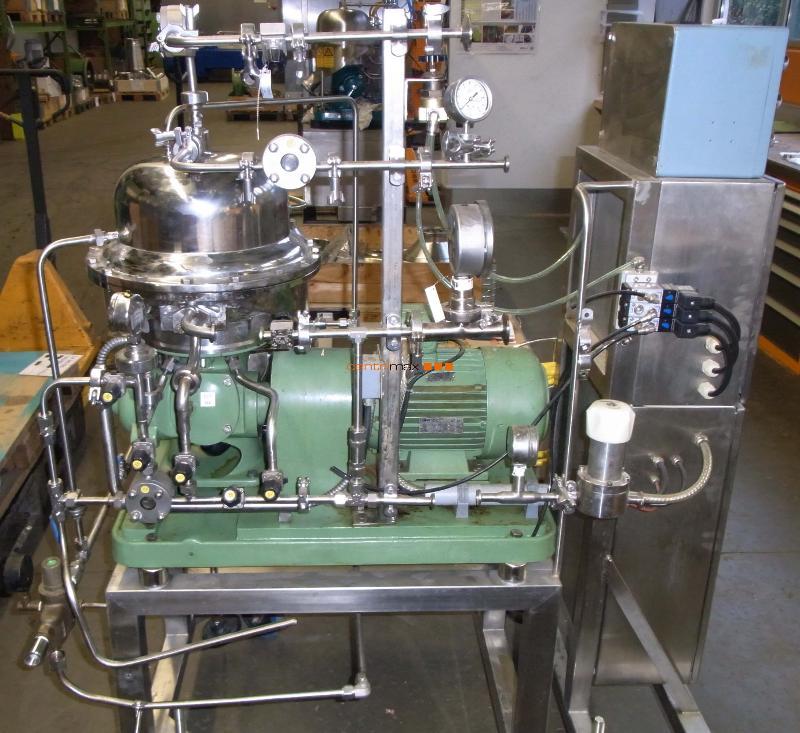 GEA Westfalia Separator Self-cleaning disc centrifuge - CSA 1-06-475
