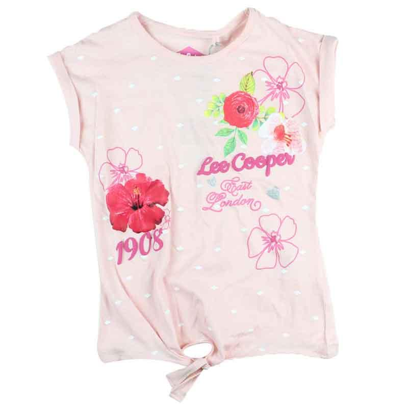 Wholesaler T-shirt licenced Lee Cooper kids - T-shirt and polo short sleeve