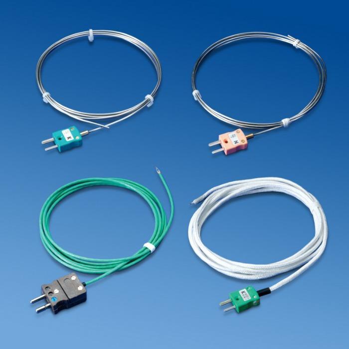 DATAPAQ Furnace Tracker sondes thermocouples - Thermocouples applications à haute température (MC96.1 ANSI ±0,4% ou ±1,1°C)