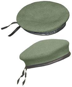 """Suits Headgear - 81/2"""" P.I.D. BC BERET"""