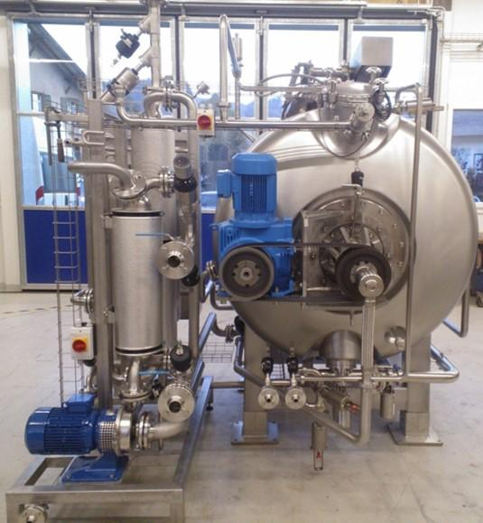 Eléments d'installation, technologie agroalimentaire  - Ohmic heating I Module d'eau chaud I Trappe de visite automatique