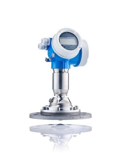 Radar measurement Micropilot FMR67 - The sensor for highest demands in bulk solids level measurement