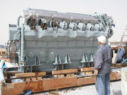 Mitsubishi Diesel Engine -