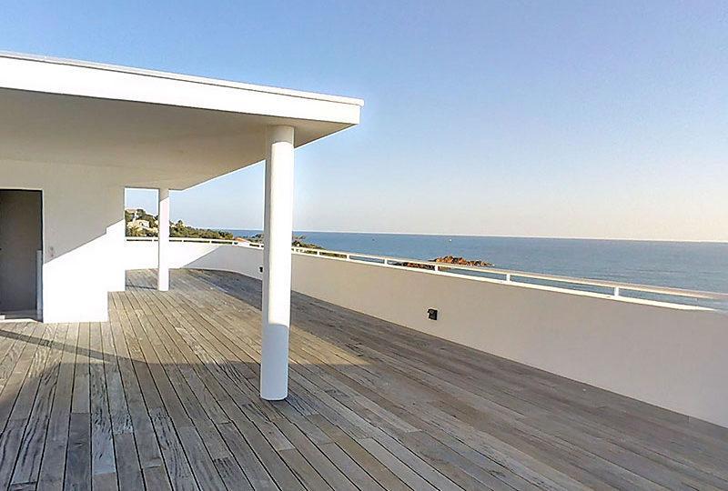 Exclusive art deco penthouse seafront Agay Saint Raphael - Real Estate
