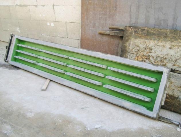 Форма для решеток бетонных - стеклопластиковые формы для производства полов
