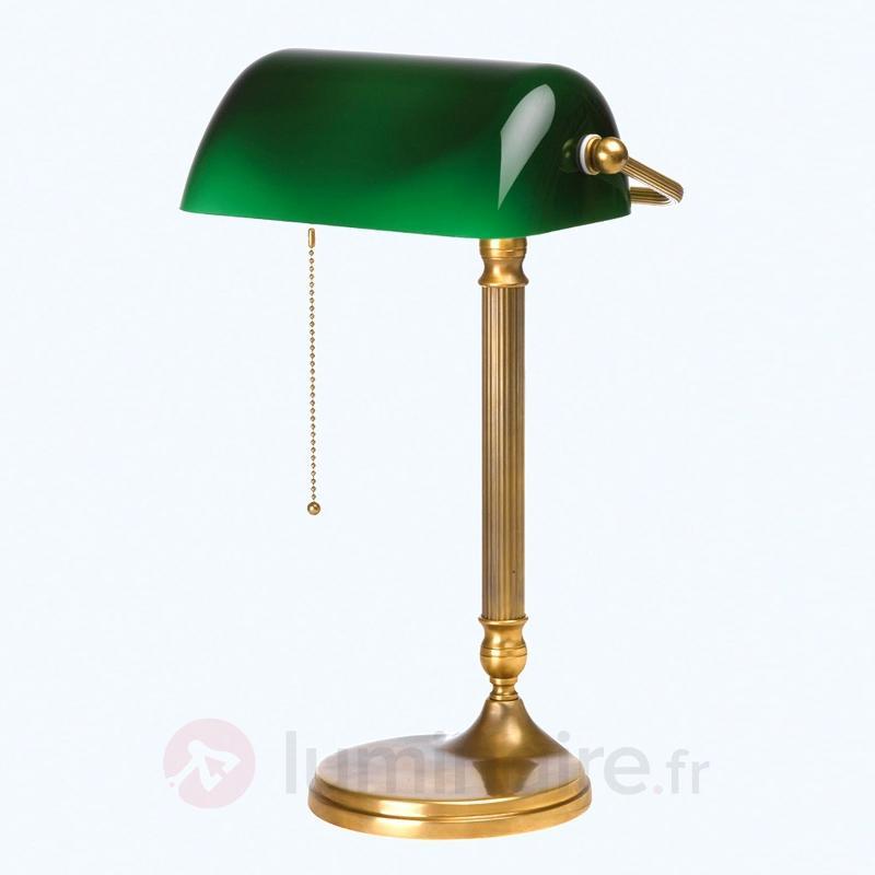 Lampe de banquier fait à la main JIVAN - Lampes de bureau