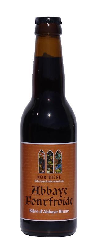 Bière brune de l'Abbaye de Fontfroide 33CL - Boissons