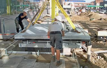 Loading lift platforms - LAWECO loading lift platform