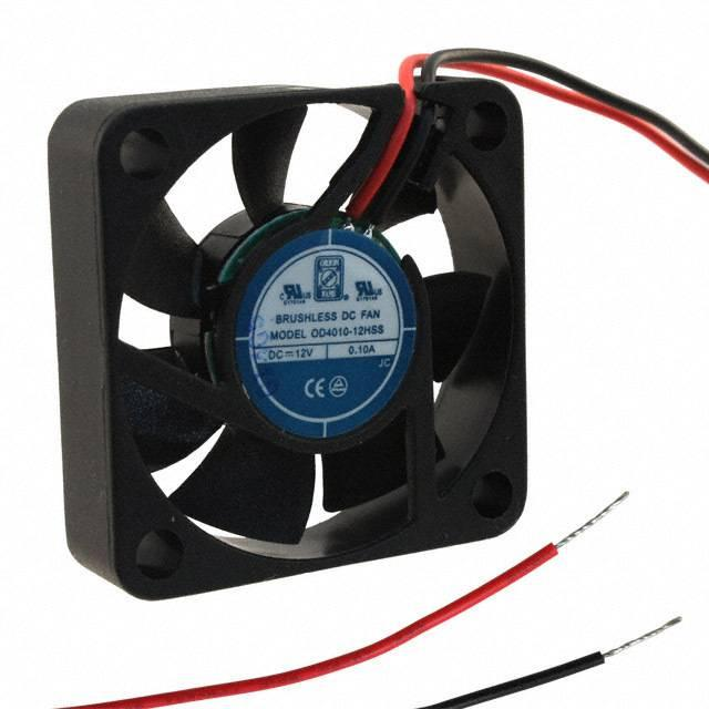 FAN AXIAL 40X10.5MM 12VDC WIRE - Orion Fans OD4010-12HSS